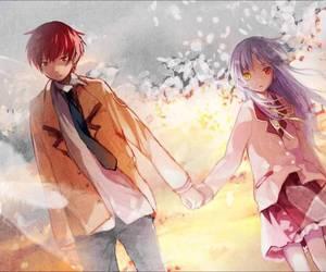 anime and angel beats image
