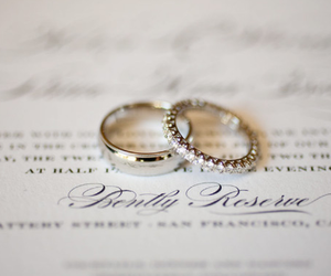 photography, ring, and wedding image