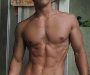 body, boys, and fitness image