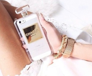 chanel, iphone, and girls image