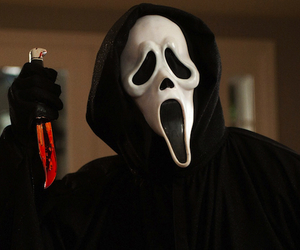 scream, horror, and movie image