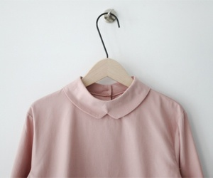 pink, fashion, and collar image