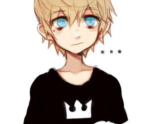 kingdom hearts, roxas, and cute image