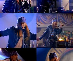 axl rose, sweet child o' mine, and Guns N Roses image