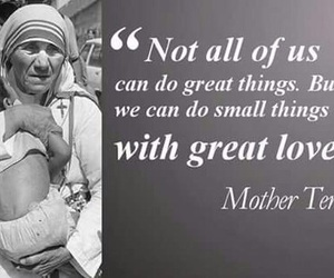 mother teresa, love, and quote image
