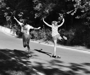 fly, friend, and skate image