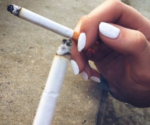 cigarettes, Nicotine, and smoke image