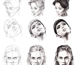 art, face, and how to draw image