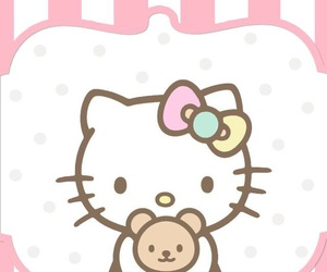 wallpaper, cute, and hello kitty image