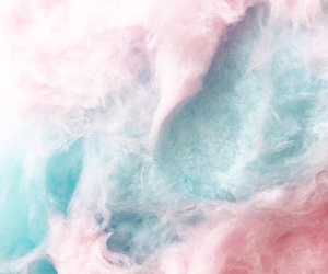 adorable, cool, and cotton candy image