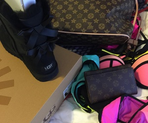 LV, uggs, and M image