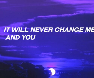Lyrics, purple, and one direction image