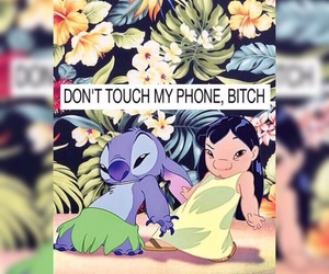 bitch, tropical, and disney image