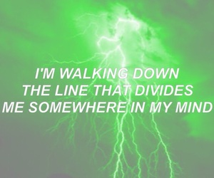green, Lyrics, and quote image