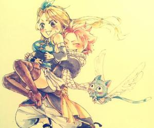 fairy tail, nalu, and lucy heartfilia image