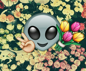 alien, cool, and emoji image