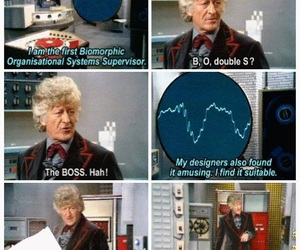 doctor who, jon pertwee, and third doctor image