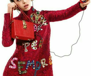 Dolce & Gabbana, red, and headphones image