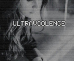 lana del rey, ultraviolence, and black and white image