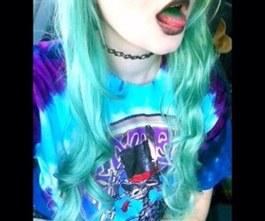 alternative, colored hair, and dyed hair image