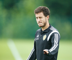 eden hazard and belgium nt image