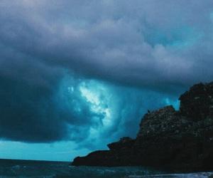 cloud, blue, and paisaje image