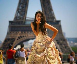 dress, girl, and kiss image