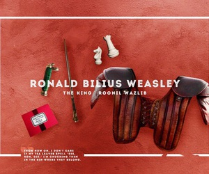 harry potter, ron weasley, and ronald bilius weasley image