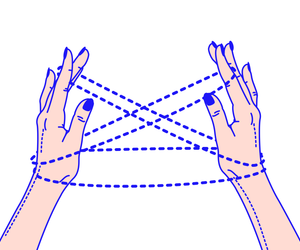 drawing and hands image