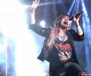 argentina, concert, and demi lovato image