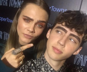 eyebrows, troye sivan, and paper towns image