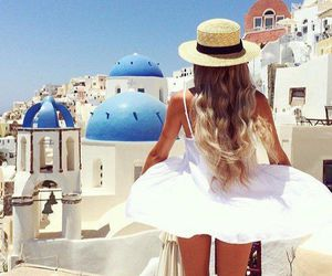 fashion, Greece, and style image