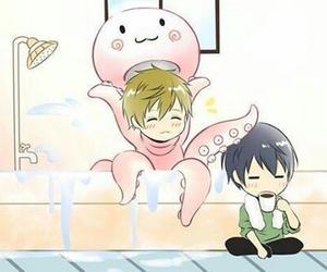anime, makoto tachibana, and haruka nanase image