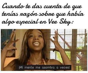 hush hush and vee sky image