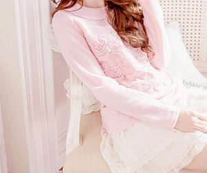 asian fashion, kfashion, and lace image