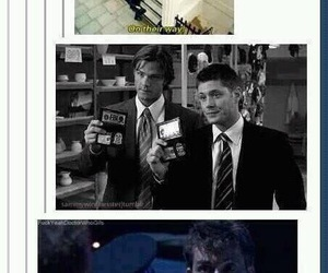 supernatural, doctor who, and fandom image