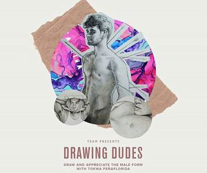 drawing, inspiration, and dudes image