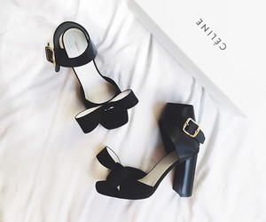 shoes, celine, and black image