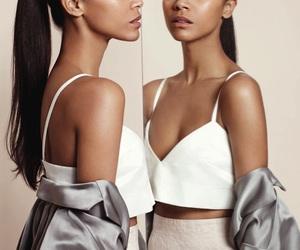 zoe saldana, beauty, and model image