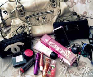 bag, chanel, and makeup image