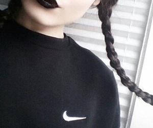 black, nike, and grunge image