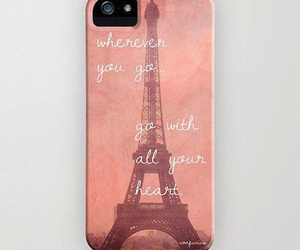 case, eiffel, and pink image