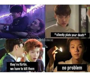 bl, exo, and bias image