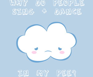 clouds, cute, and funny image
