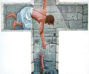 jesus, god, and cross image