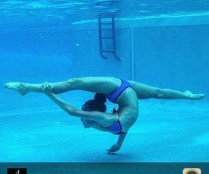 gymnastics and water image