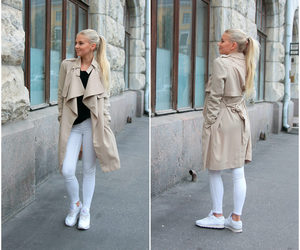 coat, girl, and outfit image
