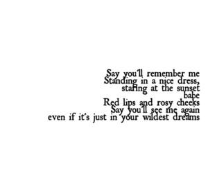 Taylor Swift, Lyrics, and song image