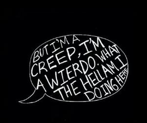 creep, radiohead, and song image