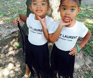 eyes, twins, and ives saint-laurent image